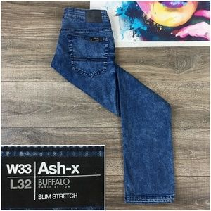 New Buffalo David Bitton Ash-X Mens Casual Jeans